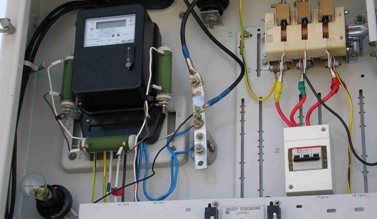 Как провести электричество на даче