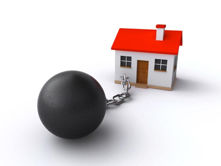 хотя Что такое обременение права собственности только