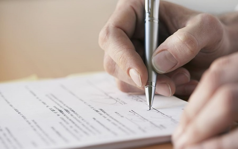 как правильно написать расписку