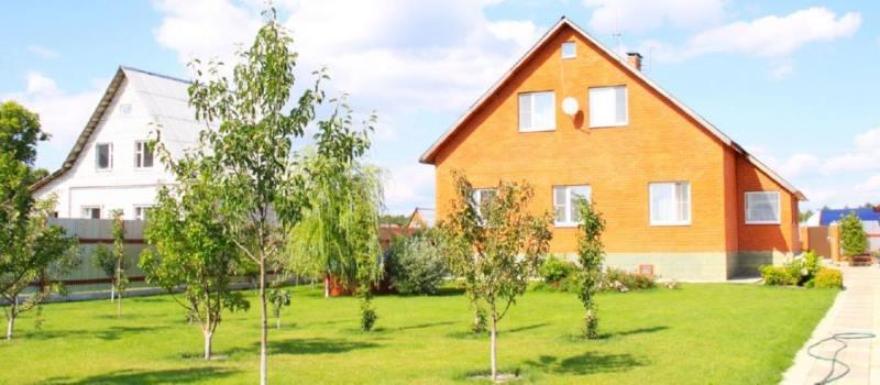 сколько стоит подарить дом с землей
