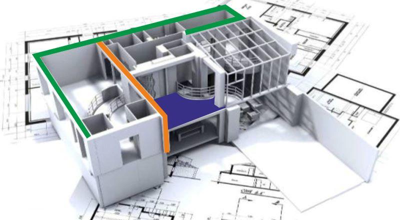 как можно сделать проект на перепланировку квартиры
