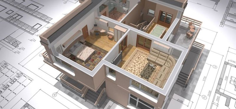 перепланировка частного дома внутри дома